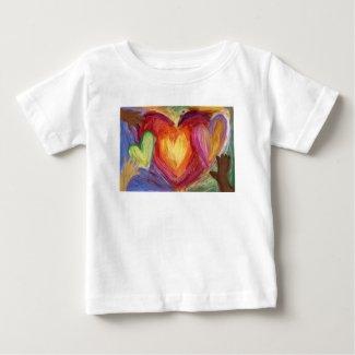 Hearts & Hands Love Diversity Art Custom Shirt