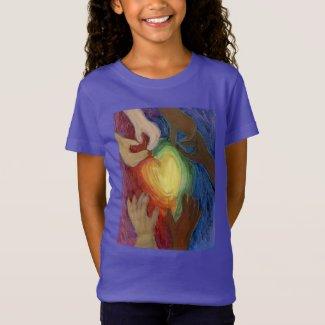 Hearts & Hands Love Diversity Art DEI Shirt