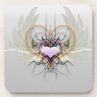 Hearts Have Wings Coaster