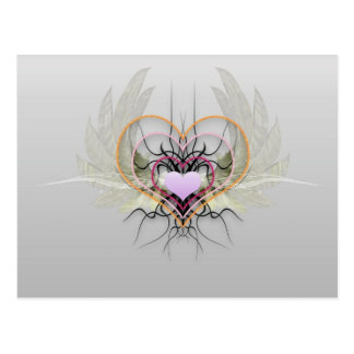 Hearts Have Wings Postcard