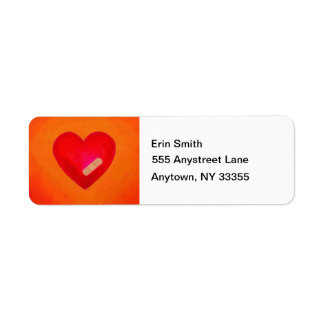 Hearts Heal address labels