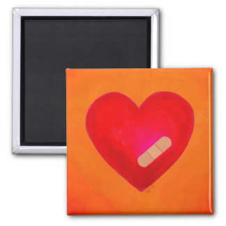 Hearts Heal magnet - time heals wounds