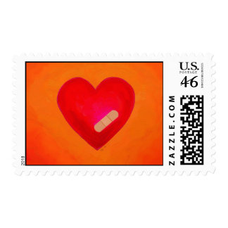 Hearts Heal postage stamps love loss
