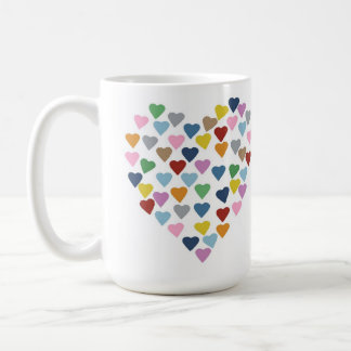 Hearts Heart Classic White Coffee Mug