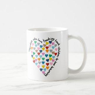 Hearts Heart Teachers Coffee Mug