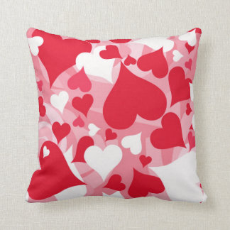 Hearts, Hearts, and More Hearts Pillow