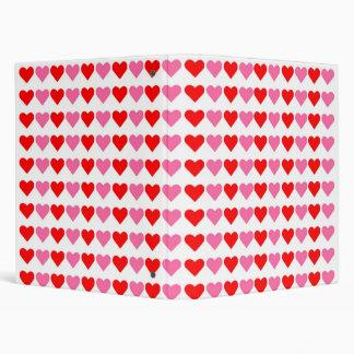 Hearts,Hearts,Hearts Binder