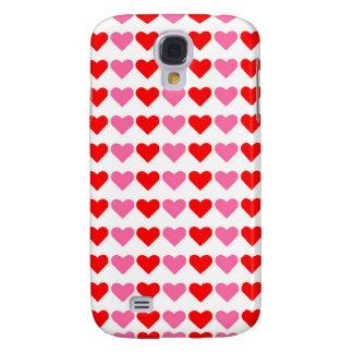 Hearts,Hearts,Hearts Galaxy S4 Case