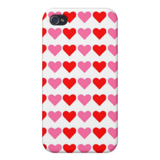 Hearts,Hearts,Hearts iPhone 4/4S Cover