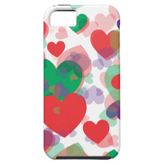 Hearts Hearts iPhone SE/5/5s Case