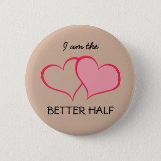 Hearts Her BETTER HALF she+SHE (1 of 2) Button