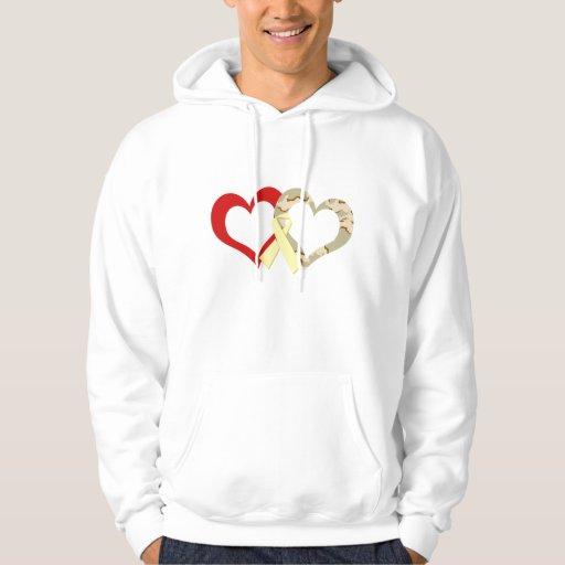 Hearts Hoodies
