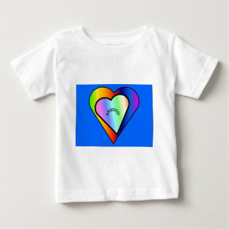 Hearts in a Heart Baby Clothes Baby T-Shirt
