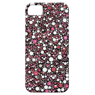 Hearts in Bubbles iPhone SE/5/5s Case