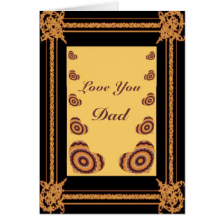 Hearts in Frame - Father's Day Card