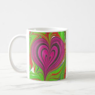 Hearts in Hearts mug