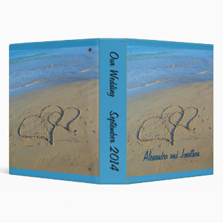 Hearts in Sand Photo Album Binder