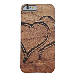 Hearts in the Sand Barely There iPhone 6 Case