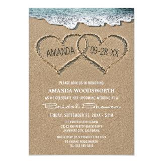 Beach invitations wedding shower