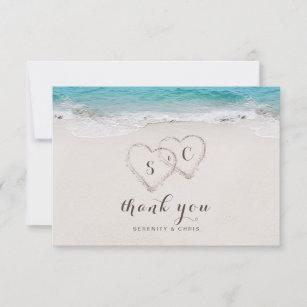 Tropical Wedding Thank You Cards Zazzle