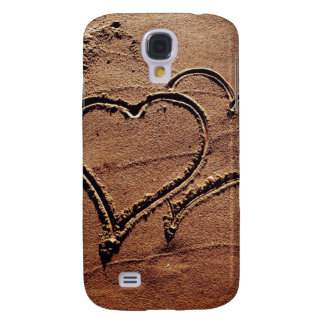 Hearts in the Sand Samsung Galaxy S4 Case