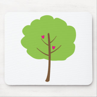 Hearts in Tree Mouse Pad