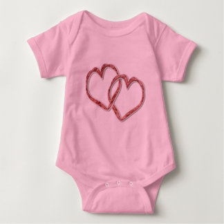Hearts Intertwined Baby Bodysuit