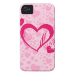 Hearts iPhone 4 Cases