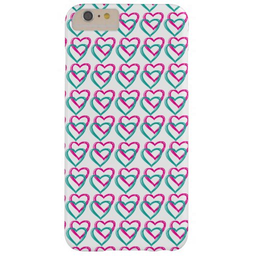 """Hearts"" iPhone 6 Plus, Barely There Barely There iPhone 6 Plus Case"