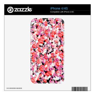Hearts iphone skin skin for iPhone 4