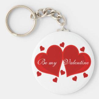 Hearts Keychain to Customize