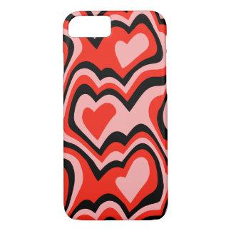 Hearts & Kisses Digital Art Phone Case