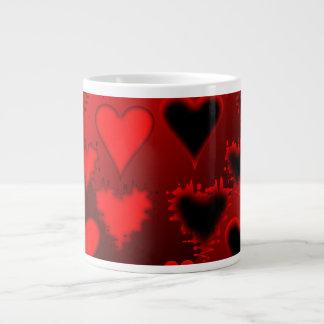 Hearts Large Coffee Mug