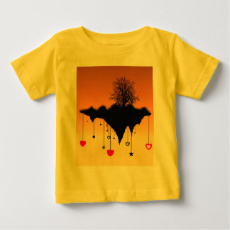 Hearts Left Hanging Baby T-Shirt