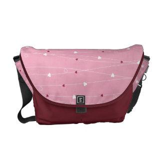 Hearts & Love Messenger Bag