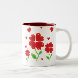 Hearts Love Mug