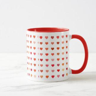 Hearts Love Mug Sweetheart Declaration Of Love
