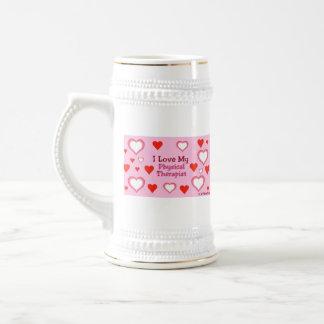 Hearts: Love My Physical Therapist Mug