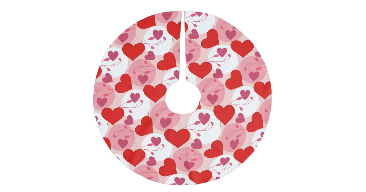 Hearts Love Romance Valentines Day Pink Feminine Brushed Polyester