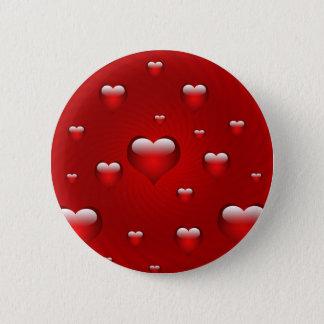 Hearts Love Theme Button
