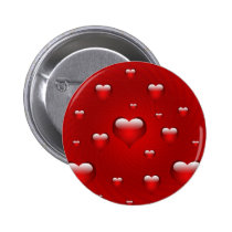 Hearts Love Theme Button
