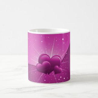 Hearts Love Theme Coffee Mug