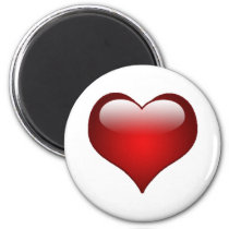 Hearts Love Theme Magnet