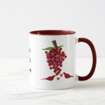 Hearts Love Theme Mug