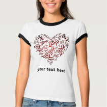 Hearts Love Theme T-Shirt