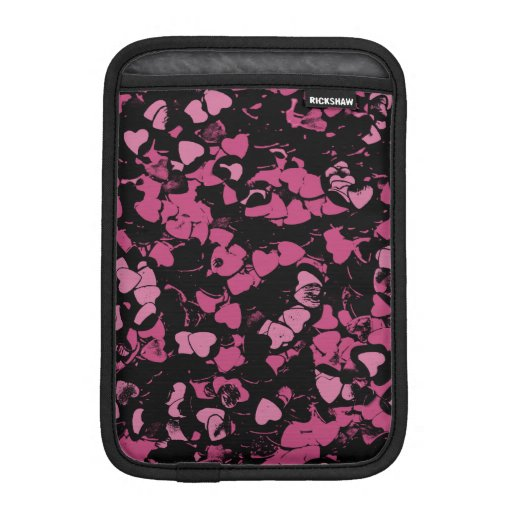 Hearts, magic gine iPad mini sleeve