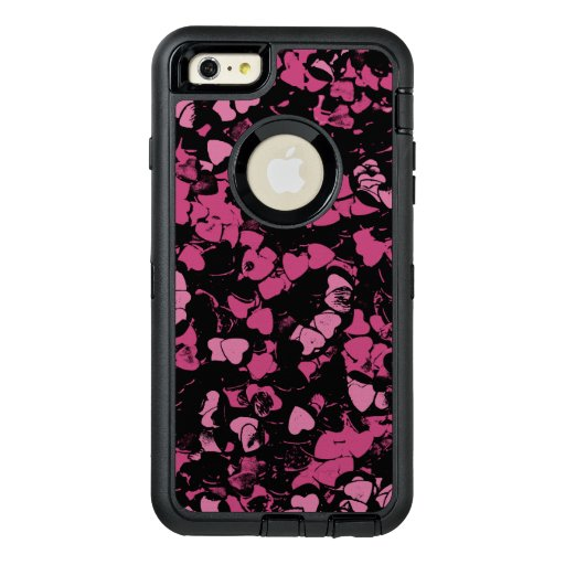 Hearts, magic gine OtterBox defender iPhone case