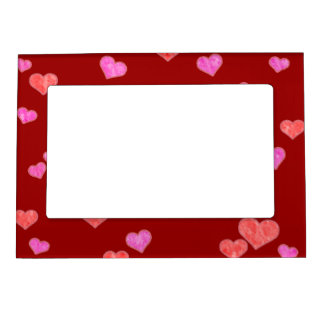Hearts Magnetic Frame