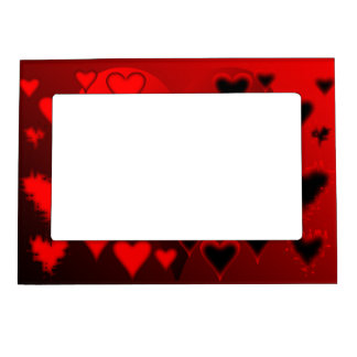 Hearts Magnetic Photo Frame