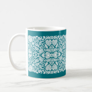 Hearts Mania Coffee Mug